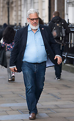 © Licensed to London News Pictures. 27/03/2018. London, UK. Founder of Momentum and Labour NEC member JON LANSMAN seen in Westminster on March 27, 2018. . Photo credit: Ben Cawthra/LNP