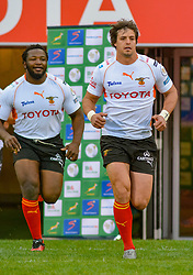 Francois Venter of the Free State Cheetahs during the Currie Cup 1st division match between the The Free State Cheetahs and the Blue Bulls held at Toyota Stadium (Free State Stadium), Bloemfontein, South Africa on the 13th August 2016<br /> <br /> Photo by:   Frikkie Kapp / Real Time Images