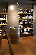 Wine shop. Restaurant Cal Blay, Sant Sadurni d'Anoia, Catalonia, Spain.