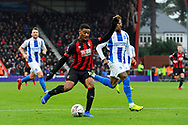 Jordon Ibe (10) of AFC Bournemouth on the attack during the The FA Cup 3rd round match between Bournemouth and Brighton and Hove Albion at the Vitality Stadium, Bournemouth, England on 5 January 2019.