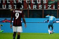 Gol di Allan Marques Loureiro Napoli 0-1. Celebration goal<br /> Milano 4-10-2015 Stadio Giuseppe Meazza - Football Calcio Serie A Milan - Napoli. Foto Giuseppe Celeste / Insidefoto