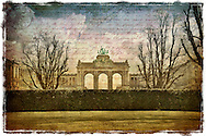 Parc Cinquantenaire, Brussels,  Belgium - Forgotten Postcard