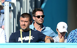 Jamie Redknapp during day four of the Fever-Tree Championship at the Queen's Club, London.