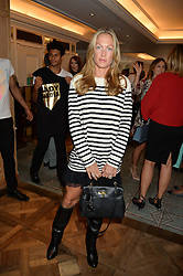 EMILY CANDY at the 3rd annual Gynaecological Cancer Fund Ladies Lunch at Fortnum & Mason, 181 Piccadilly, London on 29th September 2016.