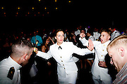 The University of Wisconsin Navy ROTC Spring Ball is held at Union South in Madison, Wisconsin on April 21, 2012.