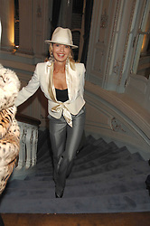 COUNTESS MAYA VON SCHONBURG at a party to celebrate the publication of 101 World Heroes by Simon Sebag-Montefiore at The Savile Club, 69 Brook Street, London W1 on 9th October 2007.<br />