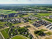 Nederland, Gelderland, Gemeente Zevenaar, 14–05-2020; Groot Holthuizen, nieuwe woonwijk in het oosten van Zevenaar. Autoluwe wijk.<br /> Groot Holthuizen, new residential area in the east of Zevenaar. Low-traffic neighborhood.<br /> luchtfoto (toeslag op standaard tarieven);<br /> aerial photo (additional fee required)<br /> copyright © 2020 foto/photo Siebe Swart