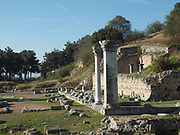 Philippi, ruins of ancient city, Greece