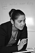 Jadwiga Markowska, Polish-Russian Galicjaki Roma living in Sweden, where she teaches the Romani Chib language to Roma school children