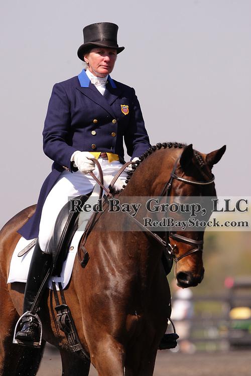 Karen O'Connor and Mandiba at The Fork Horse Trials in Norwood, North Carolina.