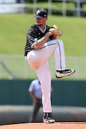 04 June 2016: Nova Southeastern's Jonny Ortiz. The Nova Southeastern University Sharks played the Millersville University Marauders in Game 14 of the 2016 NCAA Division II College World Series  at Coleman Field at the USA Baseball National Training Complex in Cary, North Carolina. Nova Southeastern won the game 8-6 and clinched the NCAA Division II Baseball Championship.