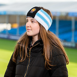 Exeter Chiefs Club Shop Product Shoot - Ryan Hiscott/JMP - 07/11/2018 - SPORT - Sandy Park - Exeter, England - Exeter Chiefs Club Shop Merchandise Photoshoot