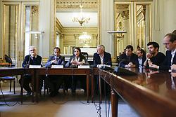 November 22, 2018 - Paris, France - Conference de presse (Credit Image: © Panoramic via ZUMA Press)