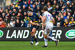 Jack Singleton of Worcester Warriors in action - Mandatory by-line: Craig Thomas/JMP - 27/01/2018 - RUGBY - Sixways Stadium - Worcester, England - Worcester Warriors v Exeter Chiefs - Anglo Welsh Cup