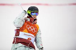 February 12, 2018 - Pyeongchang, SOUTH KOREA - 180212 Marc-Antoine Gagnon of Canada competes in the menÃ•s moguls final during day three of the 2018 Winter Olympics on February 12, 2018 in Pyeongchang..Photo: Carl Sandin / BILDBYRN / kod CS / 57999_286 (Credit Image: © Carl Sandin/Bildbyran via ZUMA Press)