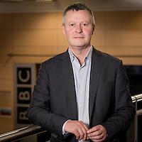 Director of BBC Birmingham and BBC Academy Joe Godwin.<br /> Corporate Portrait Photographer for BBC Birmingham.