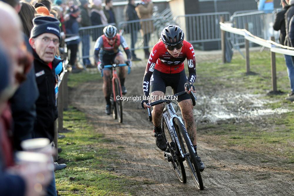 27-12-2019: Wielrennen: DVV veldrijden: Loenhout: Alice Arzuffi