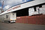 Anglo-Norden timber store, Ipswich Wet Dock, Ipswich, Suffolk, England