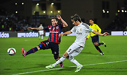 Dec. 20, 2014 - Marrakech, Morocco - Real Madrid defender FABIO COENTRAO (R) during the FIFA Club World Cup 2014 in Marrakech.  (Credit Image: RealTime Images)