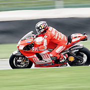 August 8, 2009, Mika Kallio practices during Free Practice 1 at the Red Bull Indianapolis Grand Prix.
