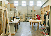 """CAPANNORI, Tuscany,  the carpentry at Daccapo warehouse, Osula Daccapo means """"from skratch"""" """" from the beginning"""""""