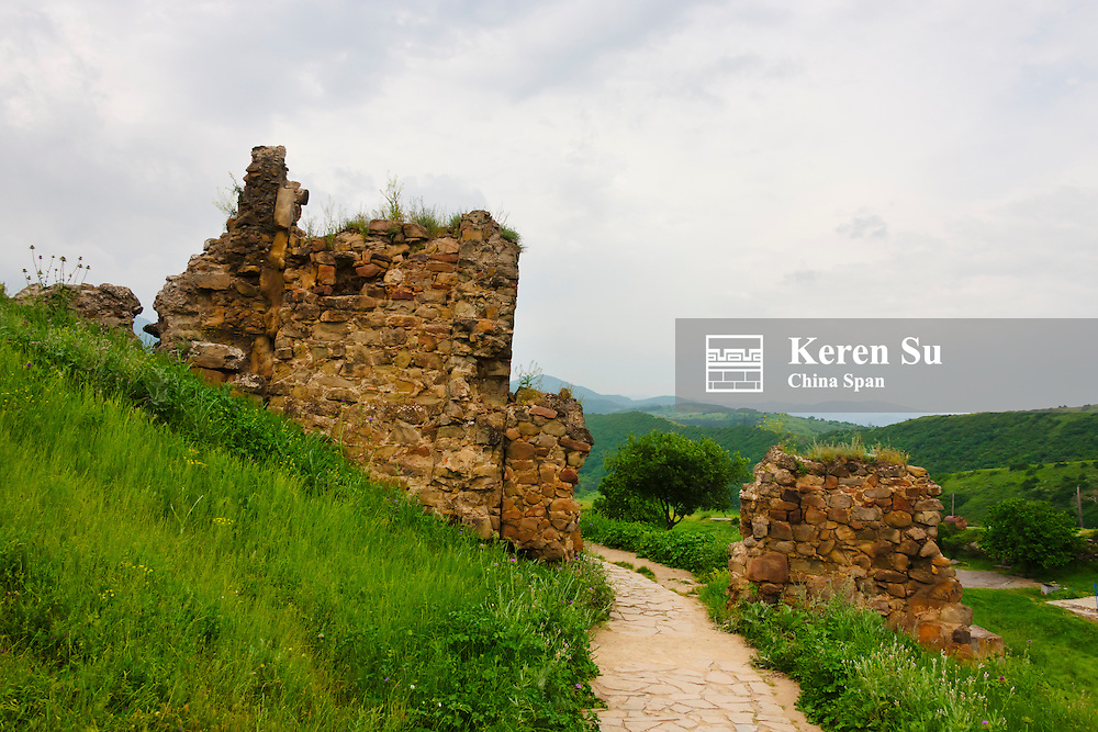 Jvari Monastery, Historical Monuments of Mtskheta, UNESCO World Heritage site, Georgia