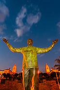 South Africa-Pretoria-Union Buildings-Mandela Statue
