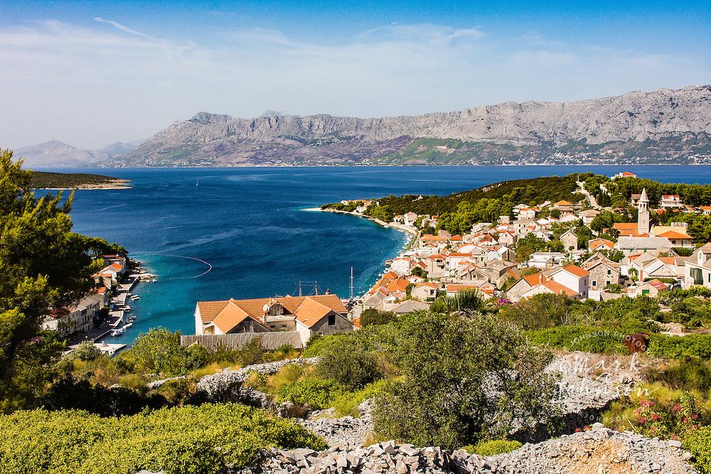 Povlja, Brac Island, Croatia