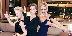 EXCLUSIVE: Cheryl Ladd proves she gets better with age in these photographs taken ten years apart of her striking the iconic Charlie's Angels pose. The 67-year-old actress — who was brought in to replace Farrah Fawcett in the 1970s TV show — recreated the classic look alongside charity cohorts Lisa O'Hurley, 46 — the wife of Seinfeld actor John O'Hurley — and U.S. news presenter Megyn Kelly, 48. The ladies joined forces once again at the 15th Annual Childhelp Drive The Dream Gala on February 2 at the Phoenician Resort in Scottsdale, Arizona — the same event where they first struck the Angels pose ten years ago. Cheryl — who played private eye Kris Munroe on the hit American show, the sister of Fawcett's character, after the actress quit following the first season — looked stunning in a deep V-neck black, long-sleeve, floor-length dress. An insider at the event revealed how the three 'real life angels' caused a stir on account of how youthful they appeared. The source said: 'They thought it would be fun to recreate the photo that they took at the ball in 2009, and when you compare the two pictures, they actually look better now. Everyone wants to know what their secret is.' Megyn, who parted ways with American network NBC last year and received a reported $35 million payout — also wowed in a black and gold sequin gown. Lisa, meanwhile, turned on the glamor in a classic black off-the-shoulder mermaid dress, teamed with a sparkling diamond choker necklace. The trio helped raised $4million at the gala, which Lisa said would go to help 'profoundly abused and neglected children'. The Childhelp organization was also celebrating its Diamond Jubilee, marking 60 years dedicated to the prevention and treatment of child abuse since 1959. Megyn — who received an award from Childhelp back in 2009 for her work as a Fox News anchor covering the subject of child abuse — said at the event: 'I've been working with Childhelp for about a dozen