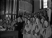 1954 - Franciscan Friary Choir