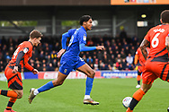 AFC Wimbledon Defender Toby Sibbick (20) during the EFL Sky Bet League 1 match between AFC Wimbledon and Wycombe Wanderers at the Cherry Red Records Stadium, Kingston, England on 27 April 2019.