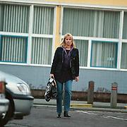 Linda de Mol verlaat ziekenhuis Hilversum nadat baby Noah daar opgenomen is