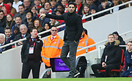 Arsenal's head coach Mikel Arteta during the Premier League match at the Emirates Stadium, London. Picture date: 7th March 2020. Picture credit should read: Paul Terry/Sportimage