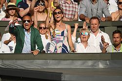 July 7, 2018 - London, London, United Kingdom - Wimbledon Tennis Championships-Day Six. Kyle Edmund v Novak Djokovic playing on centre court  on Day Six of the Wimbledon Tennis Championship. (Credit Image: © Andrew Parsons/i-Images via ZUMA Press)