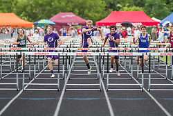 Maine State Track & Field Meet, Class B: boys high hurdles, Troy Gurski, Waterville