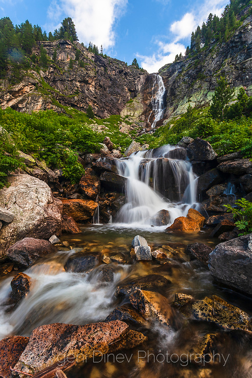 Highest waterfall in Rila Mountains