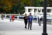 MADRID, SPAIN, Actress Taylor Schilling, passing through the city of Madrid, where she has come to mark the launch of a chain of online television, took a walk in the Parque del Retiro, using her stay in the city<br /> ©Exclusivepix Media