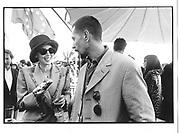 Isabel Adjani, Gary Oldman, Lisa Marie cocktails, Martinez Hotel, Cannes Film Festival 10th May 1997© Copyright Photograph by Dafydd Jones 66 Stockwell Park Rd. London SW9 0DA Tel 020 7733 0108 www.dafjones.com