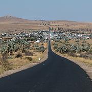 The RN7 near Isalo