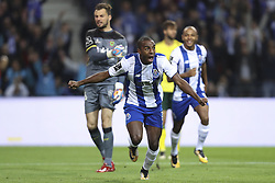 October 21, 2017 - Porto, Porto, Portugal - Porto's Portuguese defender Ricardo Pereira celebrates after scoring goal during the Premier League 2017/18 match between FC Porto and FC Pacos de Ferreira, at Dragao Stadium in Porto on October 21, 2017. (Credit Image: © Dpi/NurPhoto via ZUMA Press)