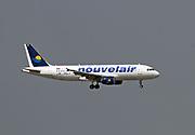 TS-INR Nouvelair Tunisie Airbus A320-214 at Malpensa (MXP / LIMC), Milan, Italy