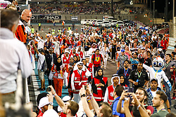 November 26, 2017 - Abu Dhabi, United Arab Emirates - Motorsports: FIA Formula One World Championship 2017, Grand Prix of Abu Dhabi, .fans  (Credit Image: © Hoch Zwei via ZUMA Wire)