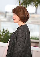 Actress Gina McKee at the Jimmy P. Psychotherapy of a Plains Indian film photocall at the Cannes Film Festival 18th May 2013