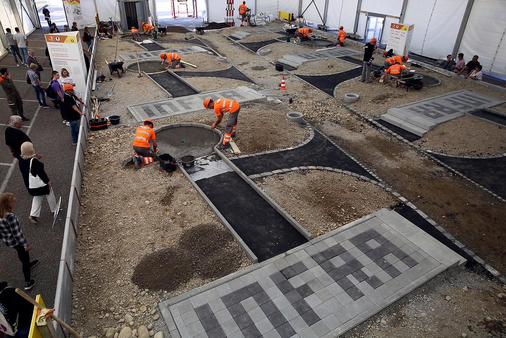 Strassenbauer/in EFZ / Constructeur de routes CFC / Constructrice de routes CFC / Costruttore stradale (AFC) / Costruttrice stradale (AFC) / Infra Suisse / Infra Suisse / Infra Suisse<br /> <br /> ©  Stefan Wermuth