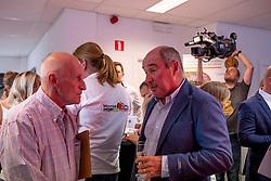 Huysegoms Christiaan, Le Jeune Philippe<br /> Team presentation for WEG Tryon 2018<br /> Zaventem 2018<br /> © Hippo Foto - Dirk Caremans<br /> 22/08/2018