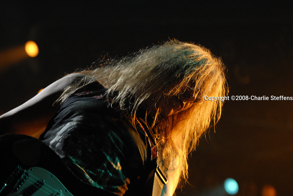 Janick Gers<br /> February 19, 2008<br /> Iron Maiden<br /> The Forum<br /> Inglewood, California
