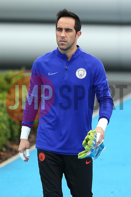Claudio Bravo of Manchester City - Mandatory by-line: Matt McNulty/JMP - 12/09/2016 - FOOTBALL - Manchester City - Training session ahead of Champions League Group C match against Borussia Monchengladbach