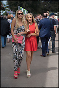 CHARLIE MALARKEY; JESSICA POULTER, Ebor Festival, York Races, 20 August 2014