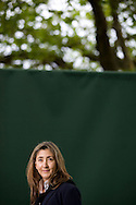 Former Colombian presidential candidate Ingrid Betancourt, pictured at the Edinburgh International Book Festival where she talked about her memoir describing her six years in captivity after being kidnapped in 2002 in her book entitled 'Even Silence Has an End'. The three-week event is the world's biggest literary festival and is held during the annual Edinburgh Festival. The 2011 event featured talks and presentations by more than 500 authors from around the world..