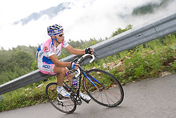 Simon Spilak  (SLO) of Lampre - N.G.C. at  uphill to Krvavec at 3rd stage of Tour de Slovenie 2009 from Lenart to Krvavec, 175 km, on June 20 2009, Slovenia. (Photo by Vid Ponikvar / Sportida)
